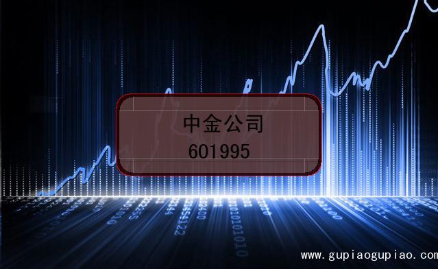 中金公司的股票代码是(601995)