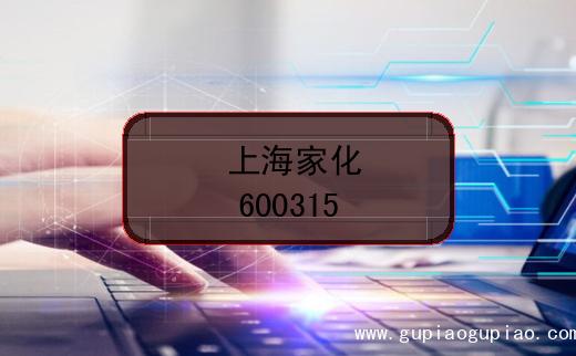 上海家化股票代码(600315)